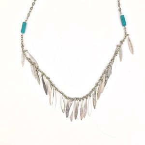 American Eagle Silver Necklace